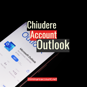 Chiudere Account Outlook